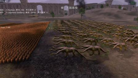 100个九头蛇对战10000个日本士兵!