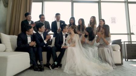 TS婚礼视频定制:唐梦青&吴剑飞 | 婚礼早拍晚播