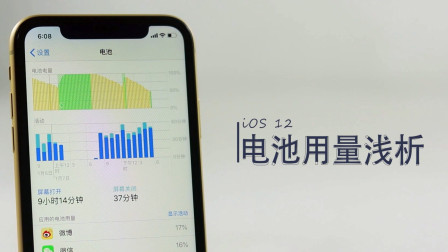 【UNCLE疯人说】iOS12电量浅析