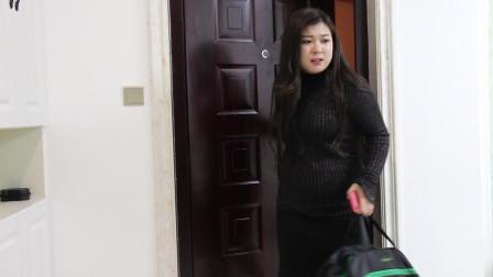 女子出差回家发现老公没在家,直接进门
