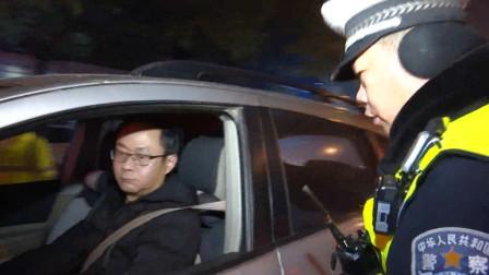 """湖北汉川 警方布下""""天罗地网"""" 酒驾司机无处逃"""