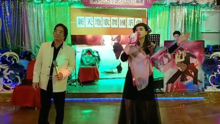 民间歌手冰冰献唱《一壶老酒》,高亢的嗓音点燃现场气氛
