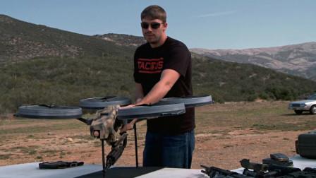 你还在小瞧飞行器搭载的武器吗? 小伙亲身测试, 威力让人不寒而栗