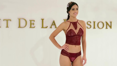 Fruit de la Passion 时尚内衣发布会,优雅模特展示时尚前卫的内衣!