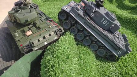 坦克世界:谢尔曼营地追逐虎式