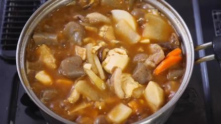 小杰搬运 美食 美味 料理 制作 肉食 猪肉酱汤