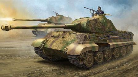 虎王坦克在二战战场几乎无敌,却因这一重大缺陷,被盟军轻松搞定