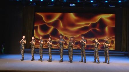 广场舞《新时期的力量》,简单好学的军体健身操~歌曲很燃!