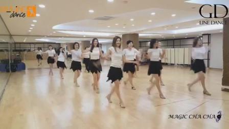 排舞  Magic Cha Cha  火辣恰恰(32拍4方向 )