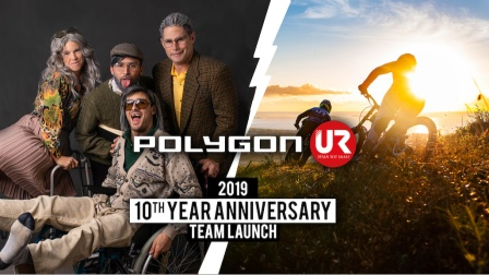 POLYGON - UR车队庆祝10周年! 2019年继续加油!