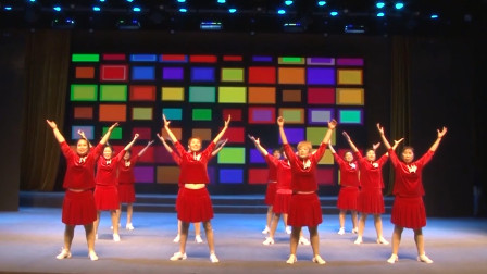 广场舞《健康赢未来》,健身还能减肥的舞蹈,很值得学习!