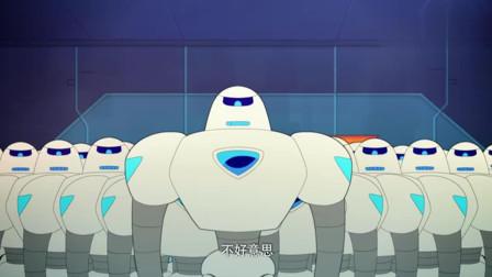 新老机器人大赛,老机器人为赢脑袋都卸了,笑死人了!