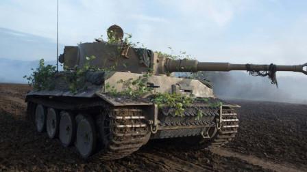 把对手按在地上摩擦,虎式坦克这么强为啥没有帮德国挽回颓势?