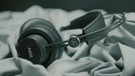 AKG K175便携式音乐耳机上手体验