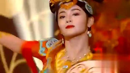 湖南春晚:高颜值超养眼!周洁琼现场带来舞蹈《飞乐丝路》