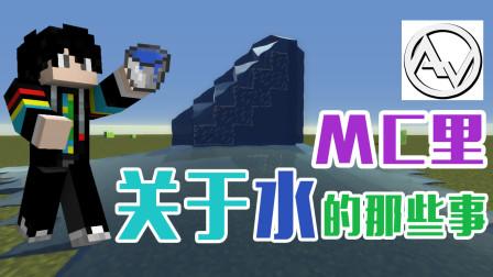 【艾维游漫2019】mc里关于水的那些事|水视频(科少)