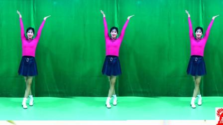 动感32步健身操教学《随你花》蓝琪儿演唱,简单好看减肥
