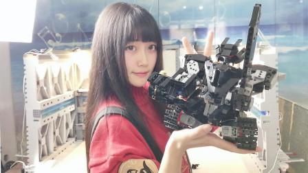 【积砌幻想】机械骑士 在线切瓜  乐高式可遥控机器人