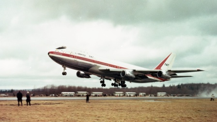 波音747首飞50周年
