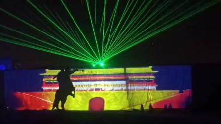 激光秀, 3dmapping秀,楼体投影秀-万圣光电