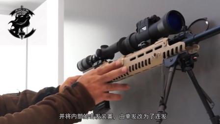 中国85式狙击改装为精确射手步枪,颜值不弱HK公司G28