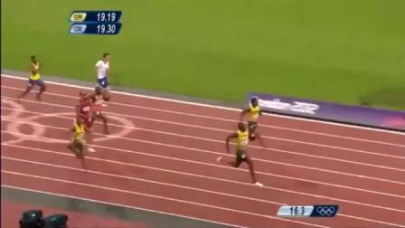 200米最没有争议的一人! 博尔特这个记录至今无人打破!