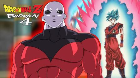 【Z】龙珠Z电光火石4剧情:超蓝20倍界王拳元气弹与吉连的对决