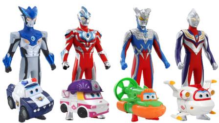 罗布奥特曼和新款超级飞侠玩具