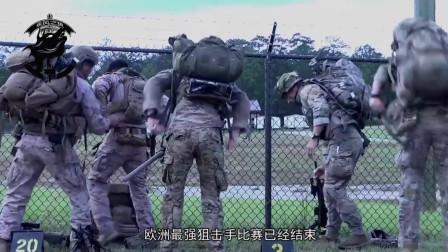 中国85式狙击出征欧洲军事比赛,与HK417和G28同场竞技