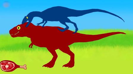 恐龙食物争夺战