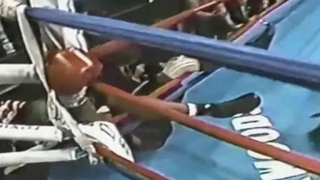 地球上最胖的拳王, 曾豪言KO泰森, 擂台上一拳打懵对手!