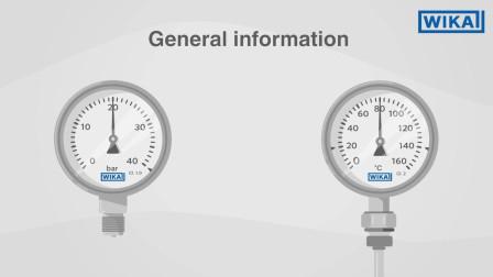 威卡中国:正确读取压力表和温度计 | 需要注意什么?(中文中字)