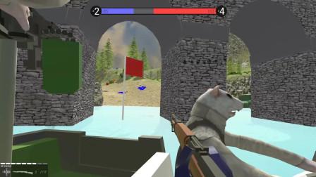 战地模拟器:带着机关枪和小红人们决一死战