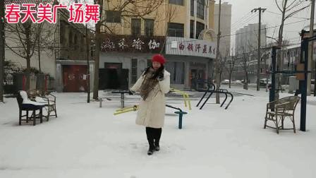 春天美广场舞《好运连连》