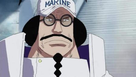 白胡子准备亲自上场, 战国元帅脸色吓得都变了