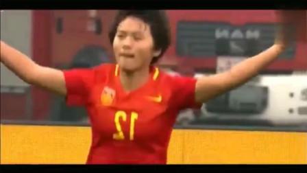 看王霜的这个动作,瞬间明白中国女足有多强!值得男足好好学习!