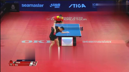 乒乓球决赛 樊振东和许昕这球太有意思了, 许昕以为稳赢了_0