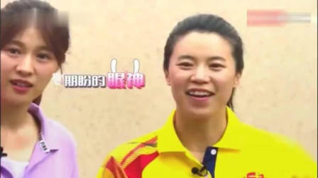 乒乓球世界冠军王楠的儿子打球, 简直和妈妈一个表情