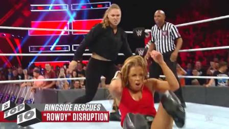 赛斯救罗门 巴蒂斯塔救HHH WWE十大热血感人玛丽苏的营救场面