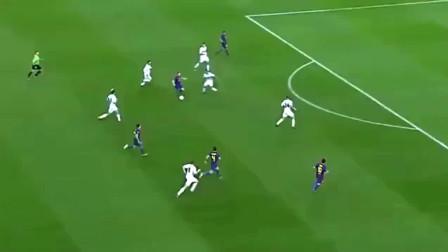 守门员看见梅西的单刀, 腿都软了!