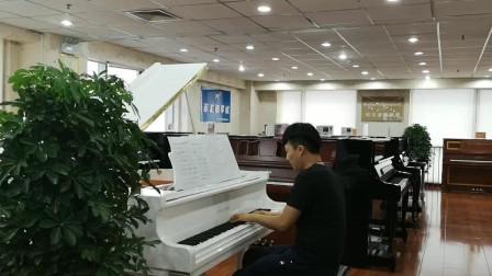 斯卡布罗集市(现场版)-钢琴即兴演奏-李天宇