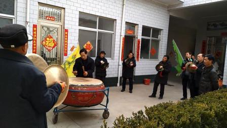 2019年正月十五裴庄村奶奶社铜器队表演