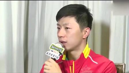 四年后, 马龙又和樊振东在全运会上相遇, 马龙却有另一番感受!