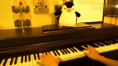 钢琴演奏射雕英雄传主题曲,大气磅礴,震撼人心!