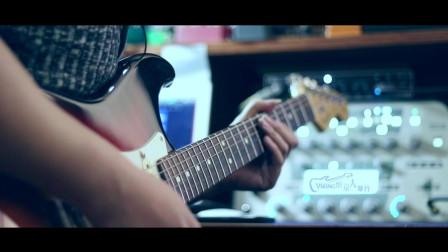 电吉他独奏《为你我受冷风吹》,怀旧金曲,超好听的演奏让你情不自禁进入循环播放