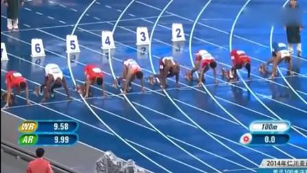 苏炳添在韩国亚运会100米决赛力压日本, 跑出了中国人的威风!