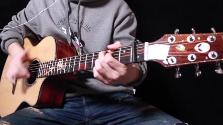 流浪地球插曲《去流浪》双吉他演奏蔡宁靠谱吉他 亚伯拉罕星语心愿1.0