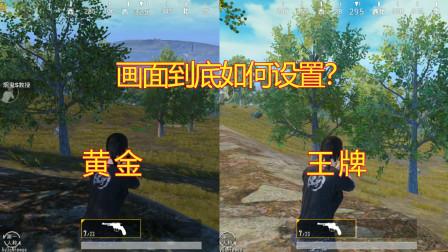 刺激战场真相来了:画面设置真的重要吗?设置前后宛若两个游戏