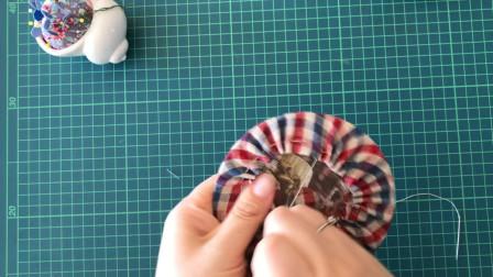 利用废旧光盘制作一款隔热垫,简单又实用