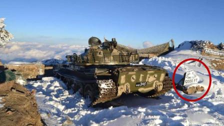 印度又不高兴了?中国坦克现身巴铁边境3600米雪峰 多国高度关注